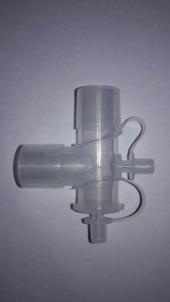 TWIN PORT OXYGEN ELBOW